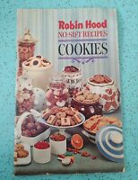 Vintage Recipe Booklets Robin Hood No Sift Recipes Cookies