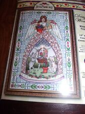 """Design Works Jim Shore KITTY ANGEL Counted Cross Stitch Kit  14"""" x 20"""""""