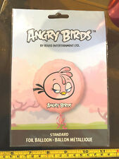 "Angry Birds 17"" Foil Balloon Anagram New Unused Pink"