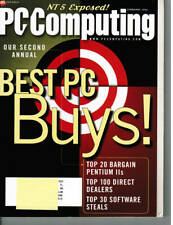 PC Computing Magazine - February, 1998 Back Issue COMPUTER Magazine