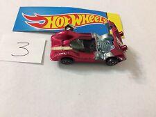 Vintage Hot Wheels Redline 1968 Chaparral 2G Shiny Rose/Red Ni #3