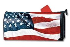 Magnet Works Stars & Stripes American Flag Original Magnetic Mailbox Wrap Cover