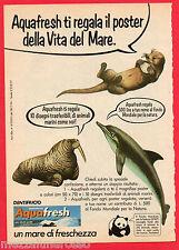 Pubblicità Advertising Werbung 1977 dentifricio AQUAFRESH