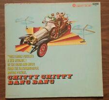 Chitty Chitty Bang Bang Vinyl Record Soundtrack Liberty UA '68 Rare Variant Blue