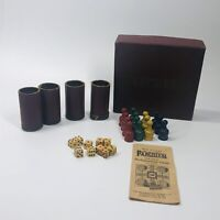 Vintage 1940s Parcheesi Backgammon Incomplete Set w/ box - see pictures (BG)