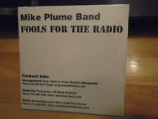 SEALED RARE PROMO Mike Plume Band CD Fools For the Radio ROCK Populars 2001 !