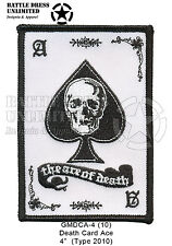 Patch: Death Card, Ace of Spades (Army USMC USN USAF Paintball)