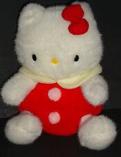 Rare - Vintage Hello Kitty Stuffed Plush - Sanrio - Japan - 12 inches - EXC