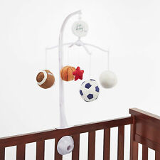 Little bedding by Nojo Hi Five  sports  Musical  Mobile Football, Soccer,