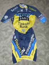 Sportful Team Saxo Tinkoff Zeitfahranzug / Skinsuit Gr. M