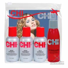 Chi 5-tlg Reiseset infra Shampoo + treatment + SILK infusione + Iron Guard Spray