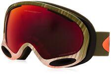 New OAKLEY A-FRAME 2.0 SNOW Wet/Dry Olive/Orange w/ Prizm Torch OO7044-42 030