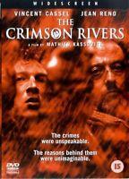CRIMSON RIVERS Part 1 - Jean Reno, Vincent Cassel NEW SEALED DVD UK REGION 2 PAL