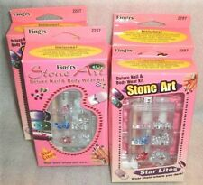 "Fing'rs  #2287 Stone Art Deluxe Nail & Body Wear Kit - GET Only ""1"" box"