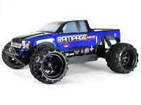 1:5 Rampage XT-E Electric RC Monster Truck Brushless Motor Off Road 4WD 2.4GHz