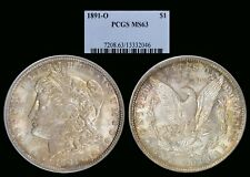 1891-O Morgan Dollar graded MS63 by PCGS! Better Date!!