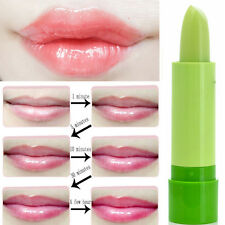Waterproof Magic Fruity Smell Green Changable Color Rose Lipstick Lip Non-stick
