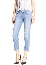 6534 Banana Republic Womens Light Blue Wash Girlfriend Cuffed Jeans Sz 31/12 $69