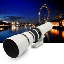 500mm f/6.3 Telephoto Fixed Prime Lens for Canon 1300D 1100D 750D 200D 77D 80D