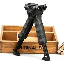 Tactical Military Adjustable Foldable Swivel Rifle Bipod fit 20mm Picatinny Rail