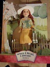 Anne of Green Gables dol ~ When I Read, I Dream Series, Mattel #50726