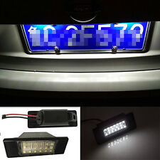 2x Bright Led number plate light for Nissan Qashqai x trail Xtrail Juke Primera