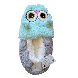FB By Fuzzy Babba Owl Slipper Socks One Size Fits Sizes 7-9.5