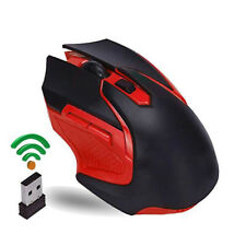 Rechargeable Wireless Mouse 3200DPI 2.4G USB Laser Gaming Mouse