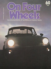 On Four Wheels magazine Vol.4, Issue 60 featuring Lincoln