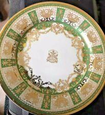 Osler Royal Malerkotla Plate Gold Osler Made in England antique