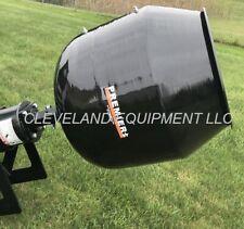 Premier Ms14 Mini Skid Steer Auger Drive Attachment w Concrete Cement Mixer Bowl