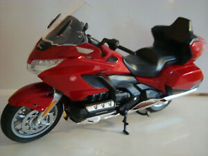 Honda Gold Wing Gl 1800 Red 2020 Welly 1:12