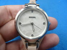 New Old Stock 32mm FOSSIL ES3150 Quartz Women Lady Watch