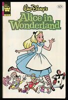 Walt Disney's Alice in Wonderland Comic Whitman 1951 Animated Movie Adaptation