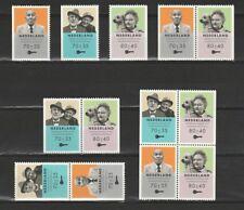 Nederland Stockkaart Zegels en Combinaties uit Postzegelboekjes 48 Postfris
