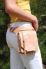 Leather Belt Bag, Hip Bag, Waist Bag, Utility Belt, Festival Bag, Fanny Pack New