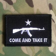 COME AND TAKE IT AK47 Gonzales Flag Morale Patch AK74