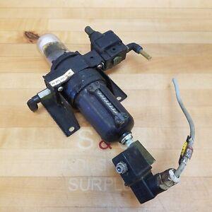Norgren F64B NNS-002 Pneumatic Filter Unit With 24V Solenoid and Regulator