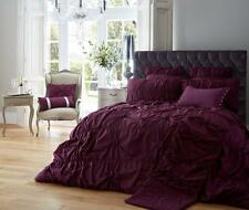 Alexander Luxury Duvet Cover Bedding Set 6 Colours All Sizes Available King Size Aubergine