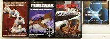 Brazilian Jiu Jitsu BJJ Martial Arts  DVD s Lot (6) - Brennan - Lister - Kesting
