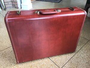 """SAMSONITE Vtg Hard Shell Suitcase Luggage 24"""" Style 4935 Shwayder Bros Denver US"""