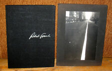 Robert Frank The Lines of My Hand 1972 Yugensha Limited 1st Slipcase New York