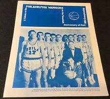 1976 Philadelphia 76 Er's Anniversary Championship Celebration Program Spectrum