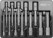 Welzh  110MM Long Impact - SPLINE BIT -M4 - M18 Socket Set -15 Pcs PRO QUALITY