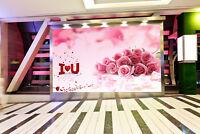 3D Pink Rose Bouquet 8 Wall Paper Murals Wall Print Wall Wallpaper Mural AU Kyra