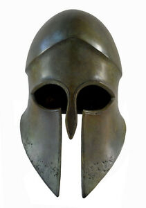 Bronze Corinthian Large Helmet - Olympia Museum Replica Spartans Athenian armor