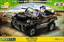 COBI VW type 166 Schwimmwagen (2403) - 200 elem. - WWII German amphibious car
