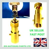 UK Bayonet Filling Adapter to Shell Gas Bottle LPG, adaptor to DIN type bottle
