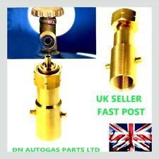 Royaume-Uni baïonnette Remplissage Adaptateur Pour Shell bouteille gaz GPL, Adaptateur Pour Din type Bouteille