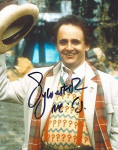 Sylvester McCoy Dr Who - autographed hand signed photo UACC & AFTAL Dealer